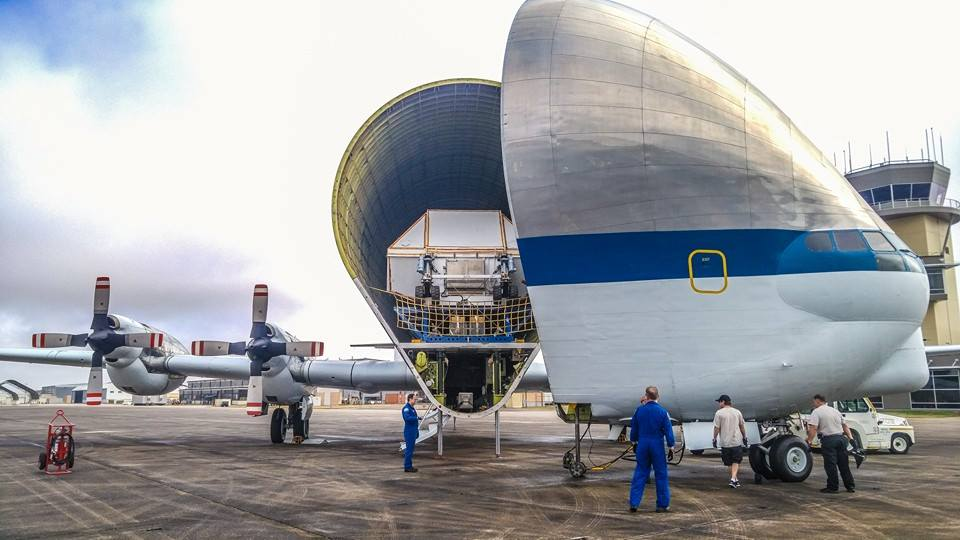 This Is How NASA Transports Spacecraft in an Aircraft