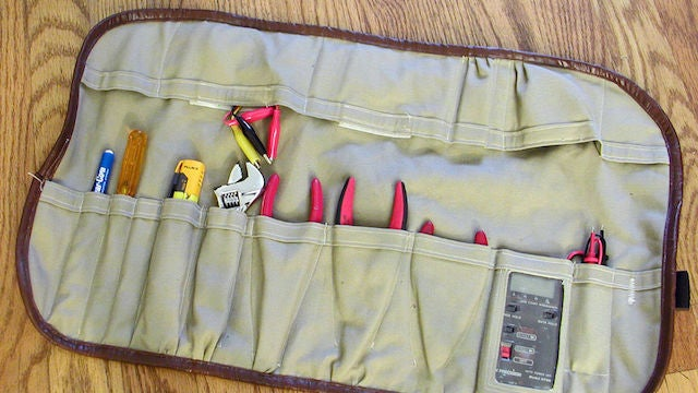 Make Your Own Tool Roll for Easy Storage and Transportation