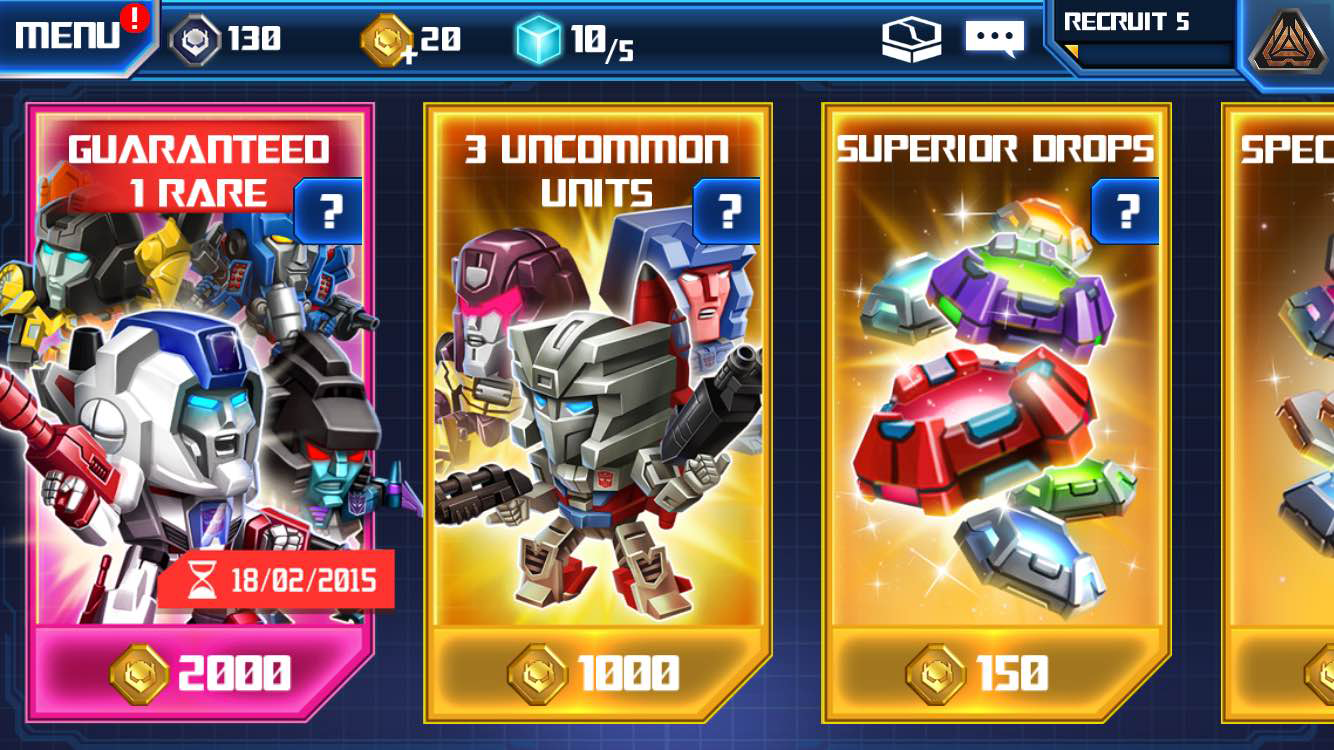 The Latest Transformers Game Had Me Until I Spent $US20 On Nothing