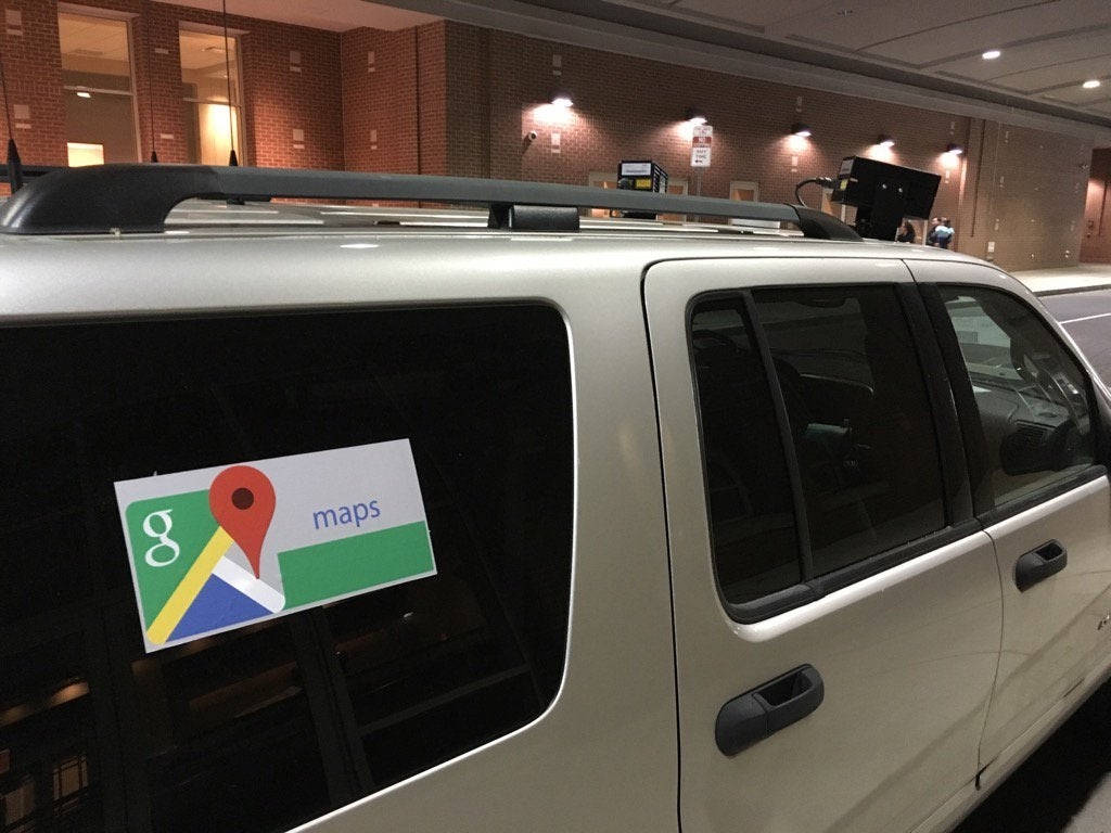 Is This a Police SUV Disguised as a Google Street View Car?