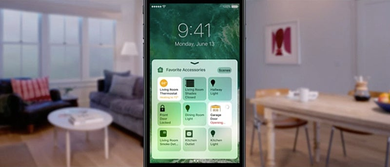 apple joins the smart home wars with a siri powered app. Black Bedroom Furniture Sets. Home Design Ideas