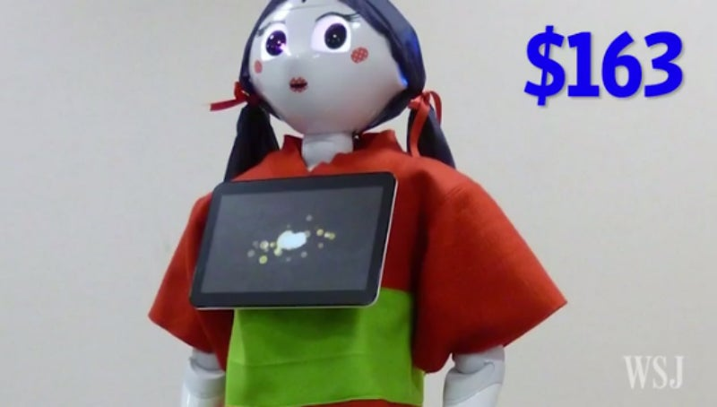 You Could Creepily Dress Your Pepper Robot Up Like a Doll