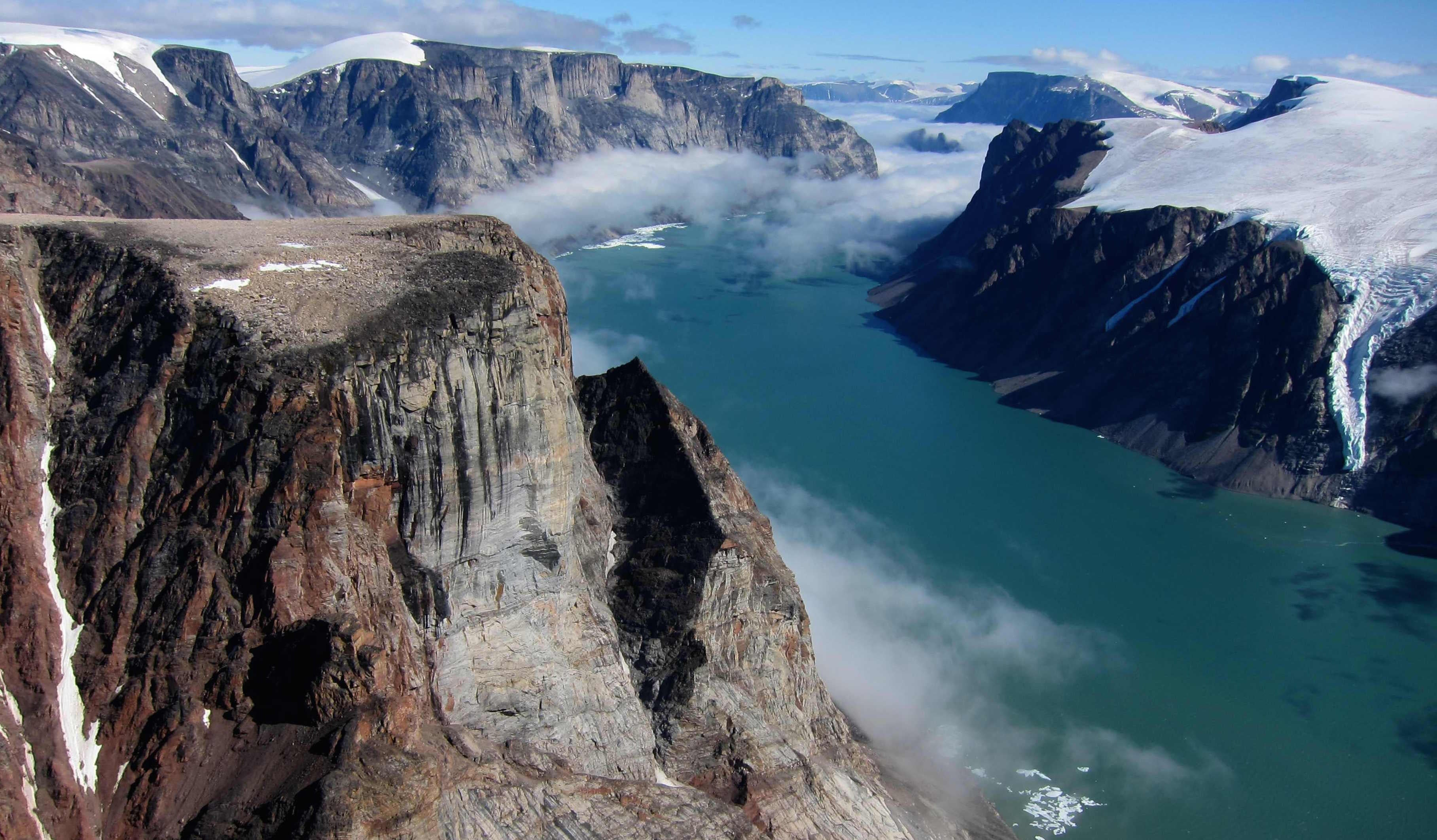 The Last Scrap Of The North American Ice Sheet Is Melting