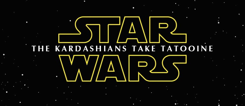 Help Come Up With a Better Star Wars Title Than