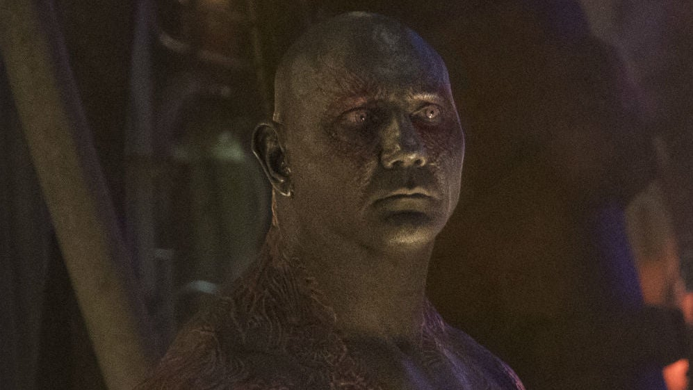 Dave Bautista May Not Do Guardians Of The Galaxy Vol. 3 Without James Gunn's Script