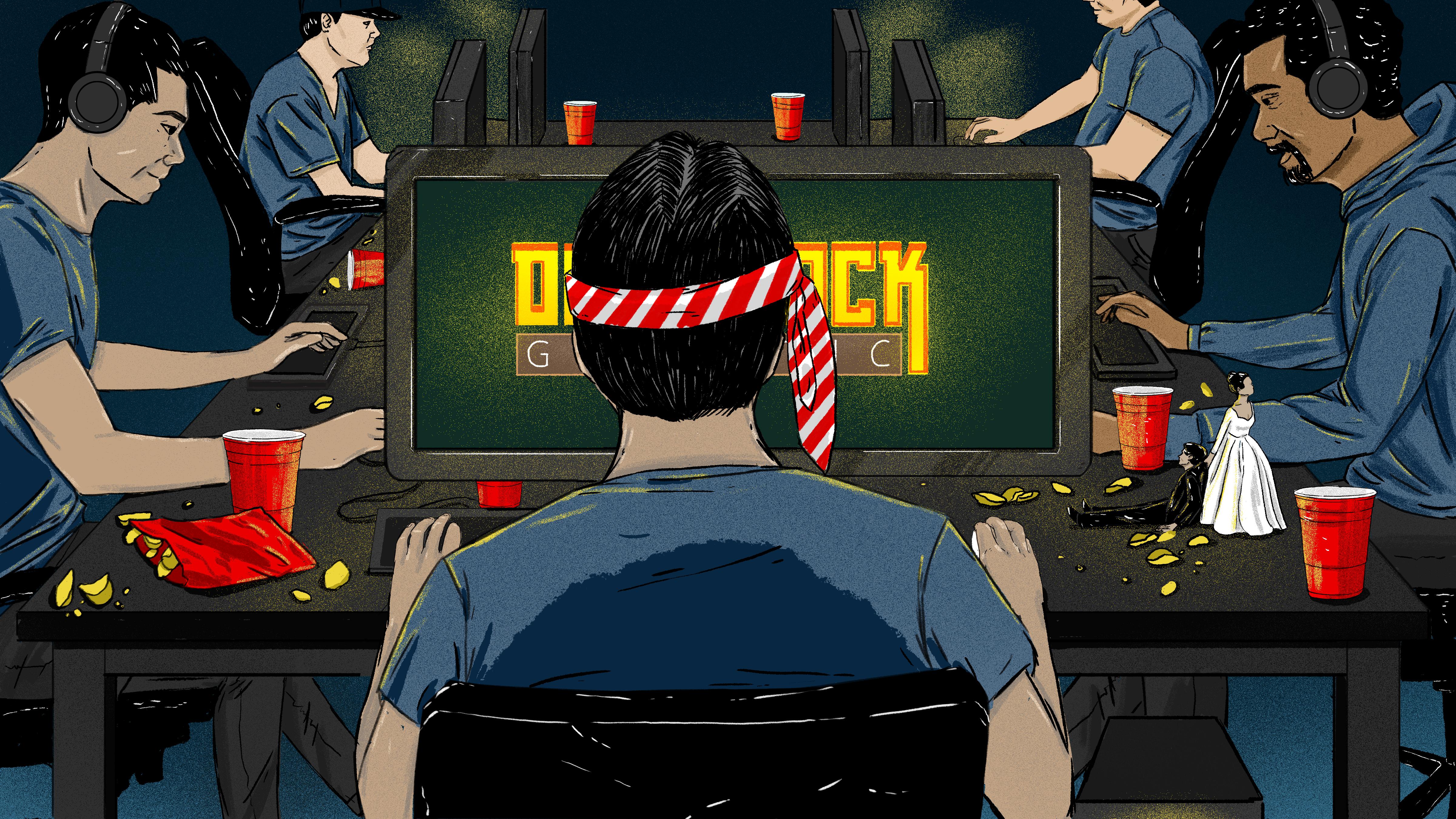 Strip Clubs? Nah. The New Bachelor Party Is A Weekend Of Video Games
