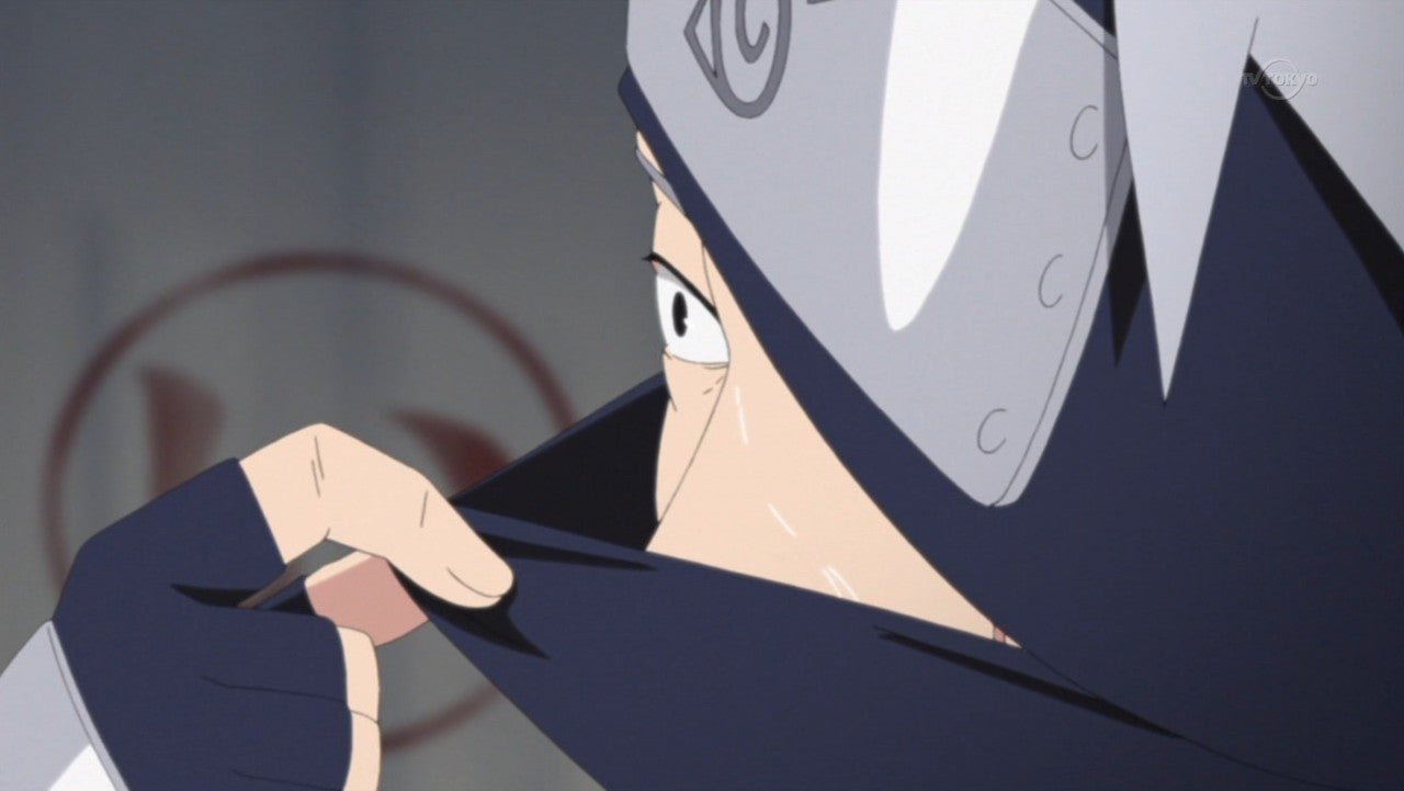 A Most Famous Naruto Unmasking In Anime Form