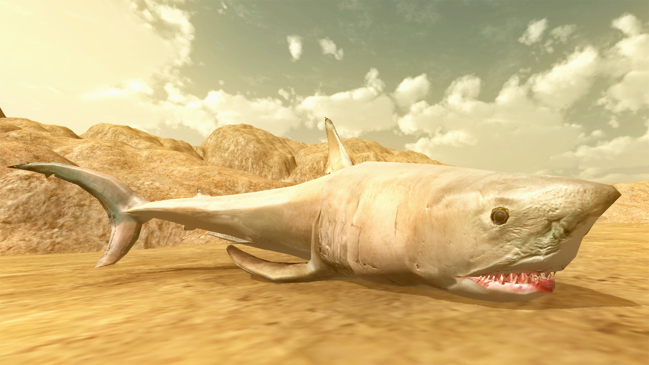 There's Blood Everywhere: A YouTube Shark Beast Battle Simulator Story