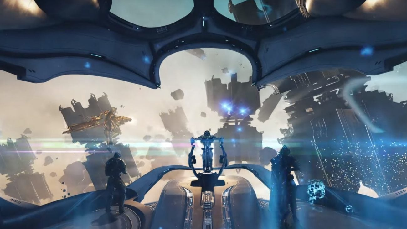 Warframe's New Spaceships Are Powered By Portals