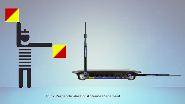 The Best Way To Point Your Wi-Fi Router Antennas: Perpendicularly