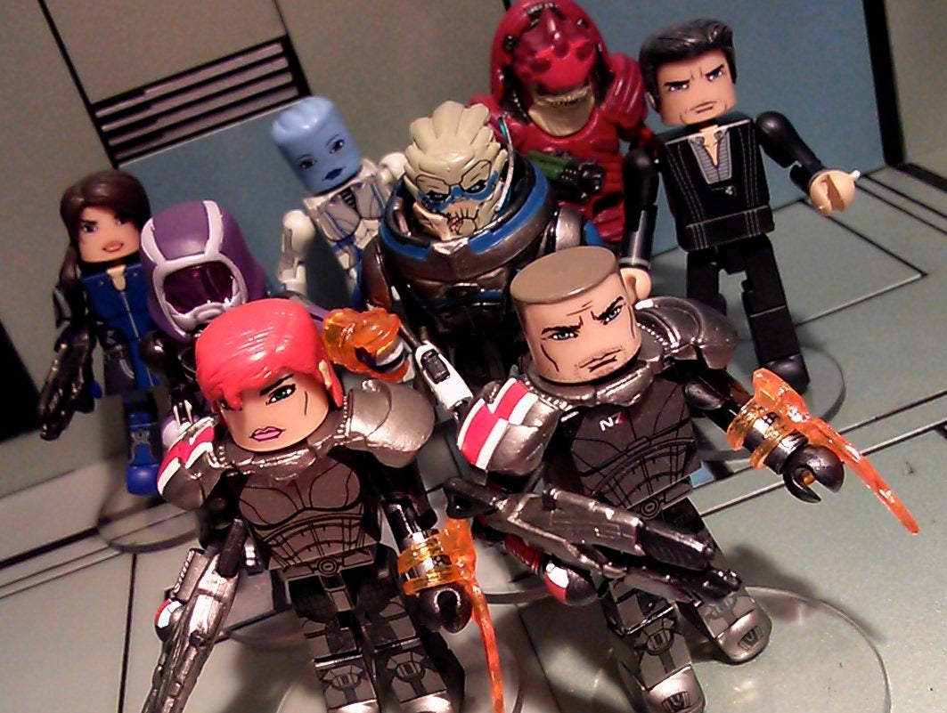 Tiny Mass Effect Figures Protect Your Pockets From Reapers