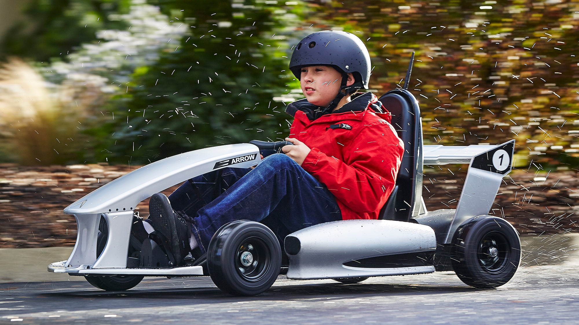 Toy 4 Wheelers For 8 Year Old Boys : The arrow smart electric go kart is a tesla for nine year