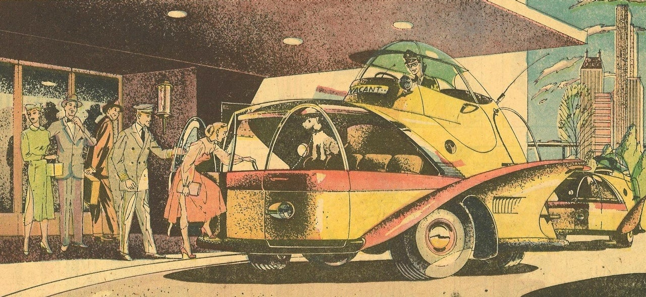 This Bizarre Taxi Of The Future Was Supposed To Fit So Many People