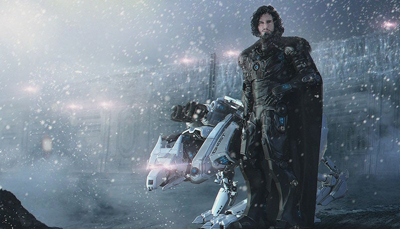 Jon Snow, Lord Commander Of The Night's Watch Mechanised Scout Division