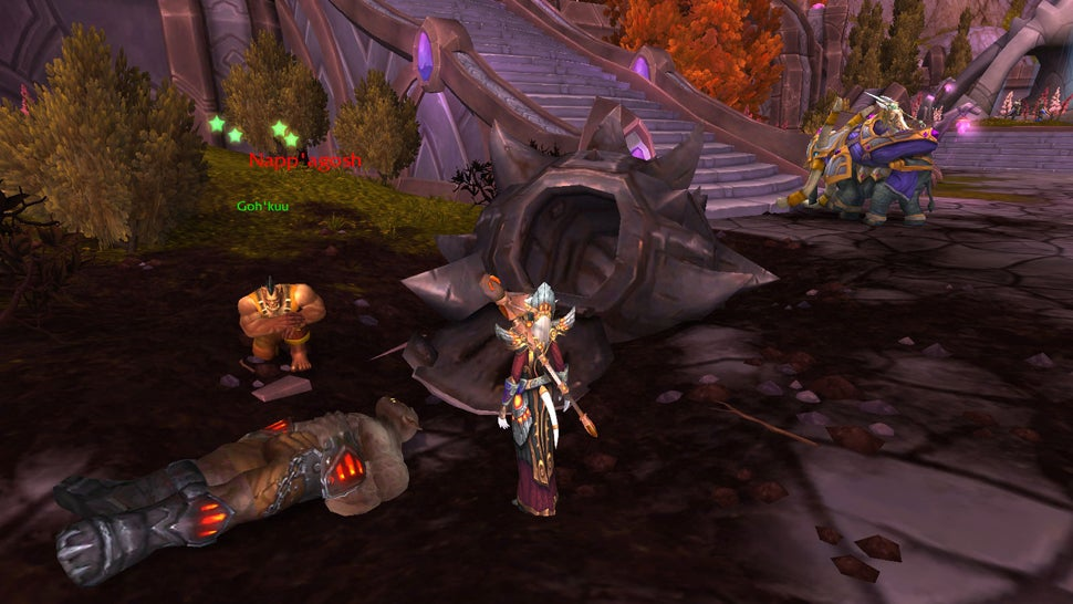 Of Course, Warlords of Draenor Has A Dragon Ball Easter Egg