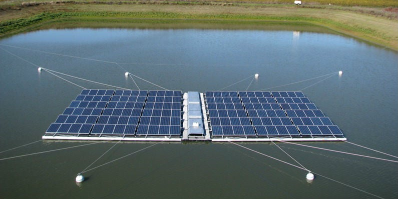 Monster Machines India S Building A Huge Floating Solar