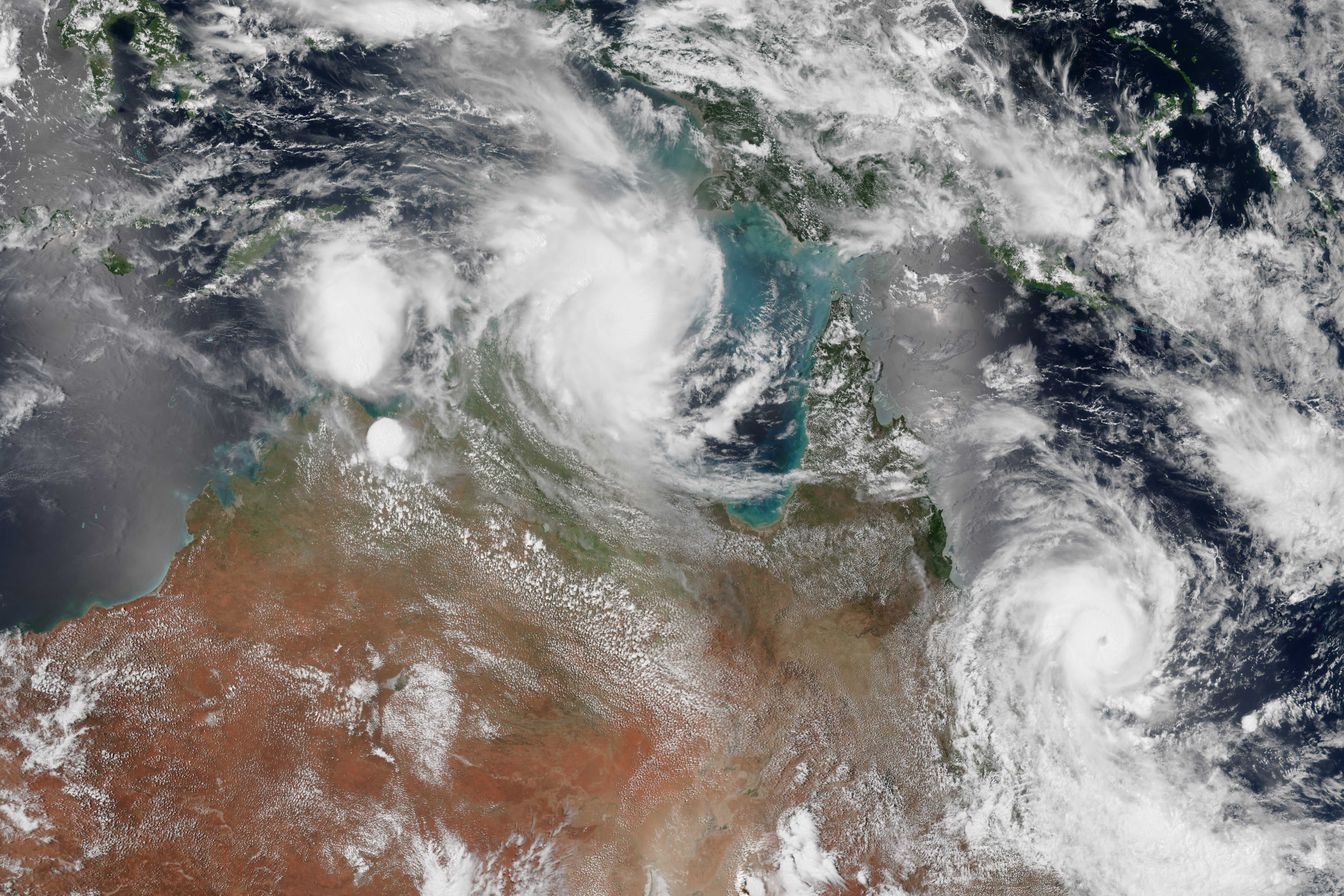 The Double Cyclone Disaster That Smashed into Australia This Week