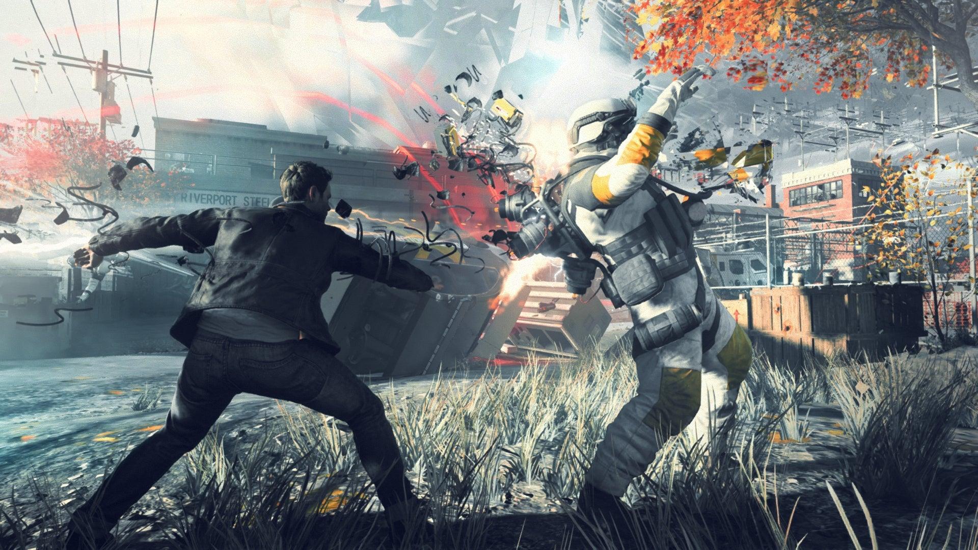 Quantum Break's PC Version Sure Sounds Broken
