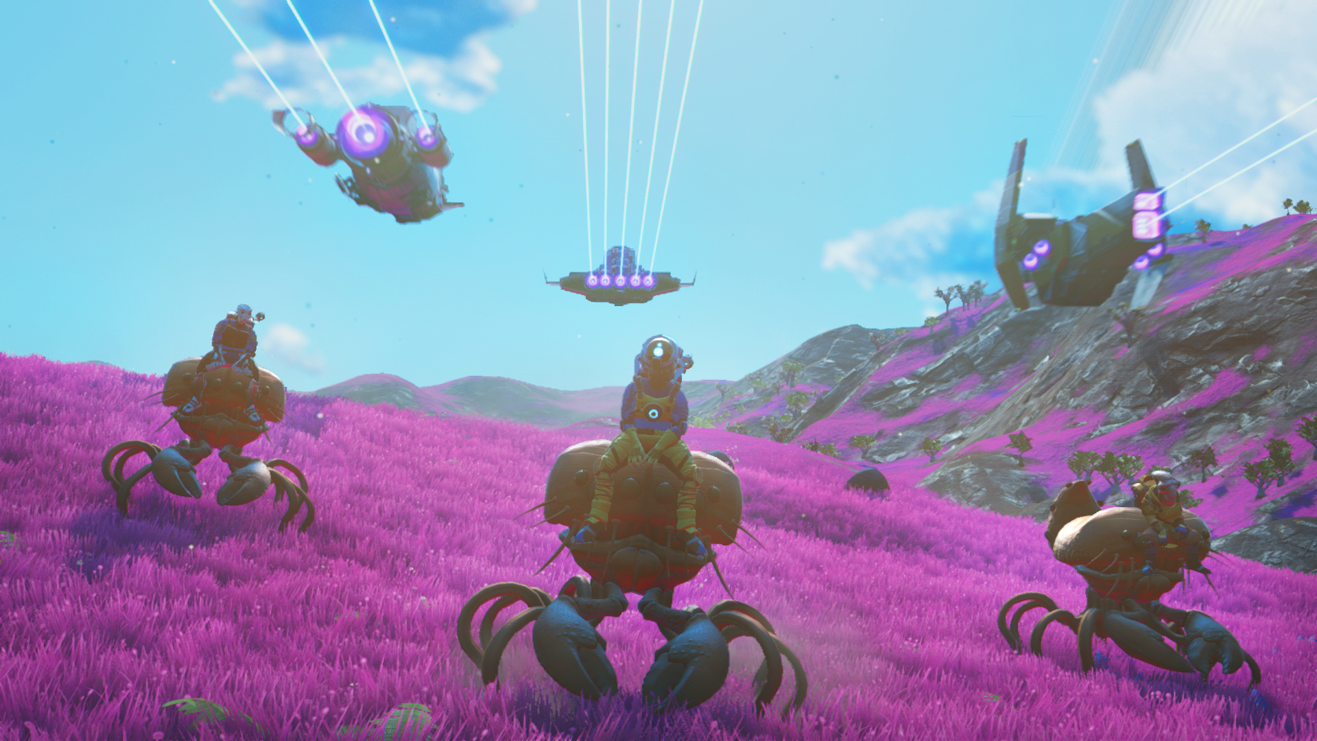 No Man's Sky Creator On New Multiplayer Features And Taming Animals