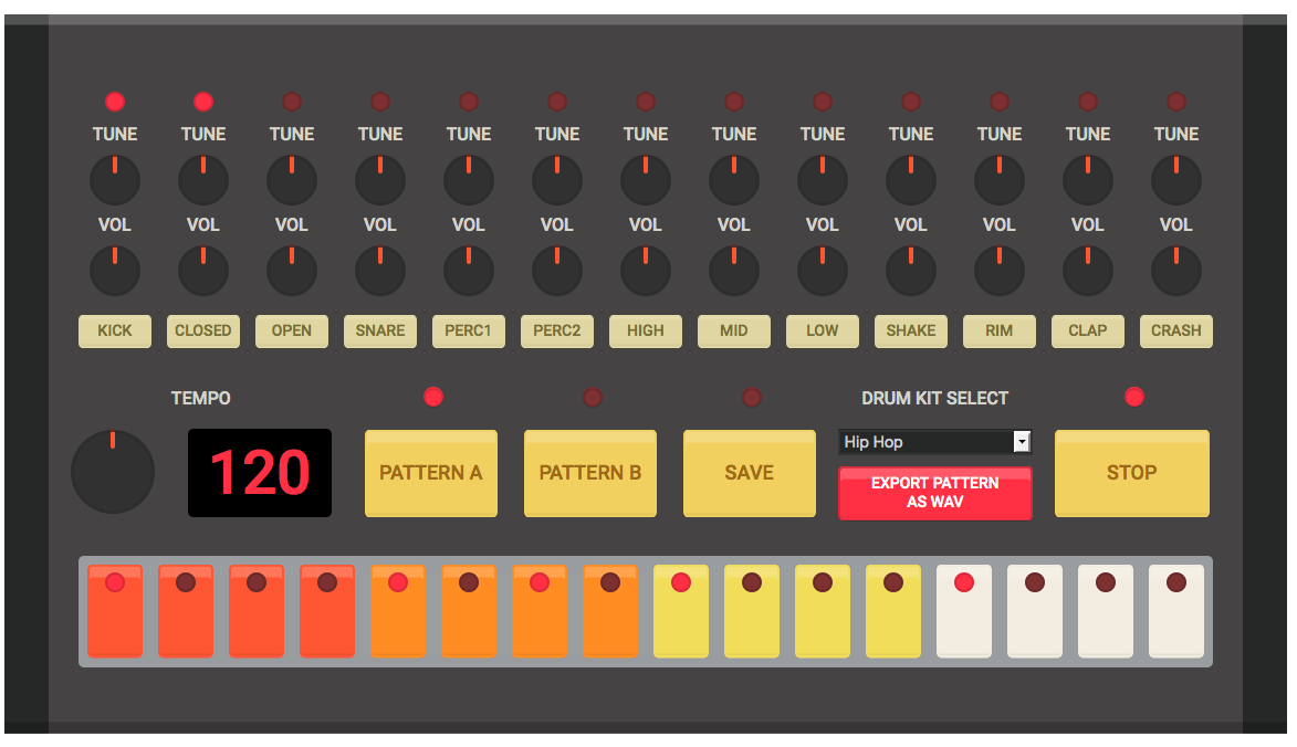 If You Try the HTML5 Drum Machine, It's All You'll Do for the Next Hour