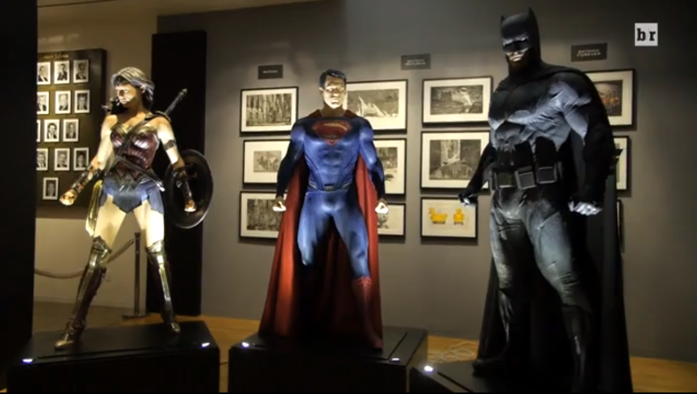 A Closer Look at Batman v. Superman's Big Three Superhero Costumes