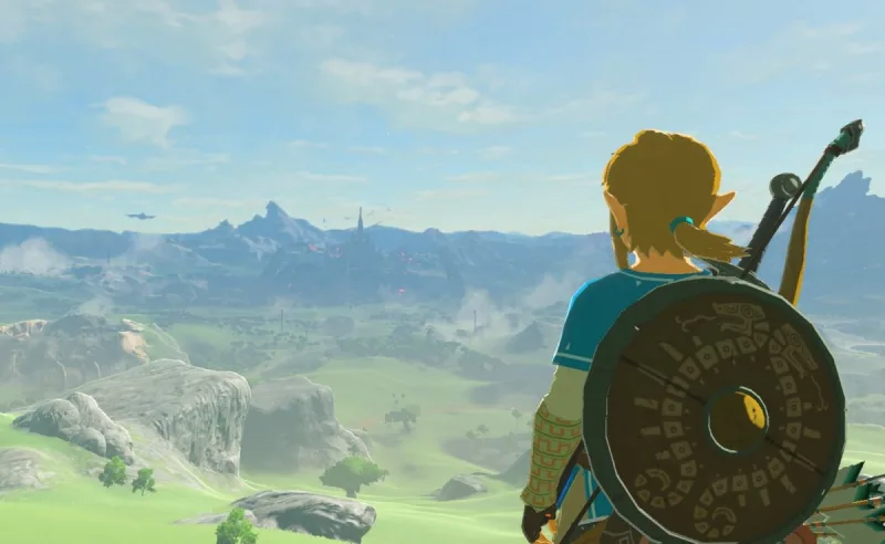 Mum Draws Massive And Highly-Detailed Zelda: Breath Of The Wild Map