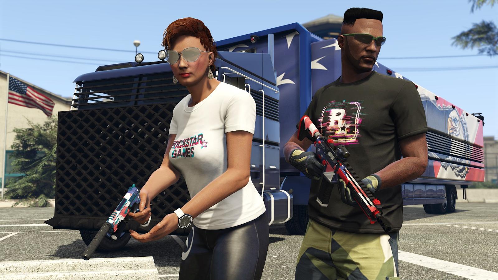 GTA Online's NewBATTLEGROUNDS-Style Mode Is A Lot Of Fun