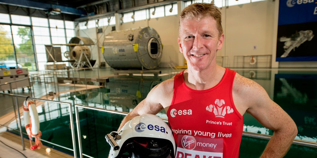 Tomorrow, Astronaut Tim Peake Will Run The London Marathon Onboard The ISS
