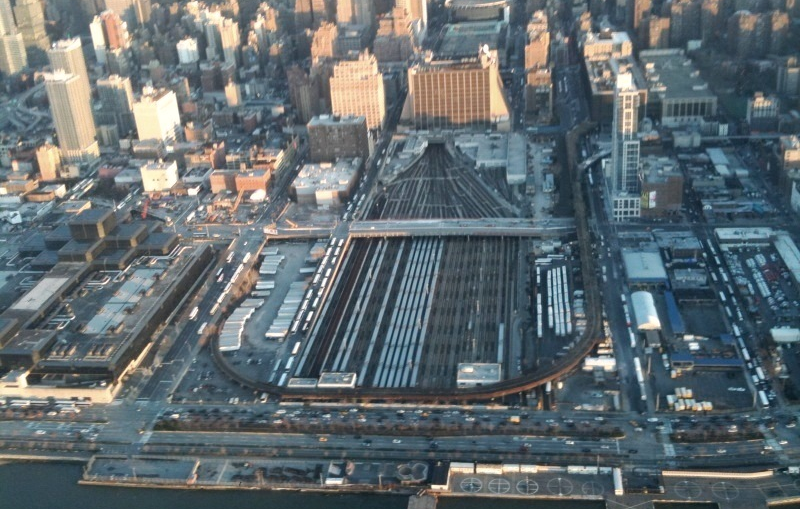 How NYC's Newest Neighbourhood Will Float Above an Active Train Yard