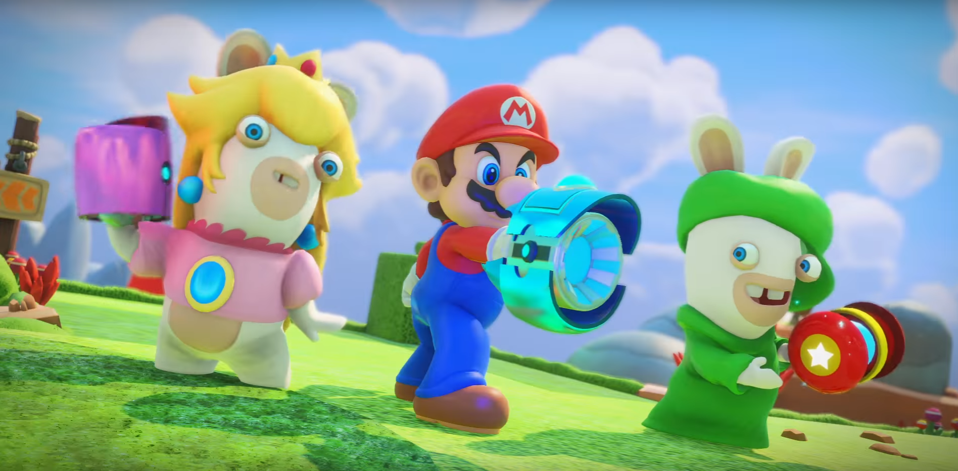 The Best Thing About Mario + Rabbids Kingdom Battle Are The Details