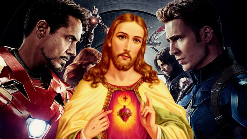 Mexican Church Pairs Jesus And The Avengers For Easter