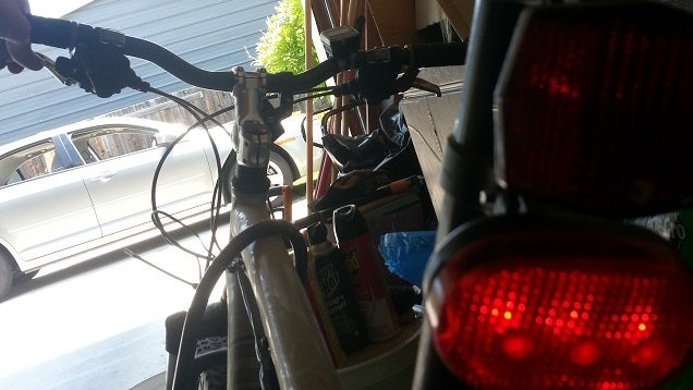 Add A Brake Light To Your Bicycle