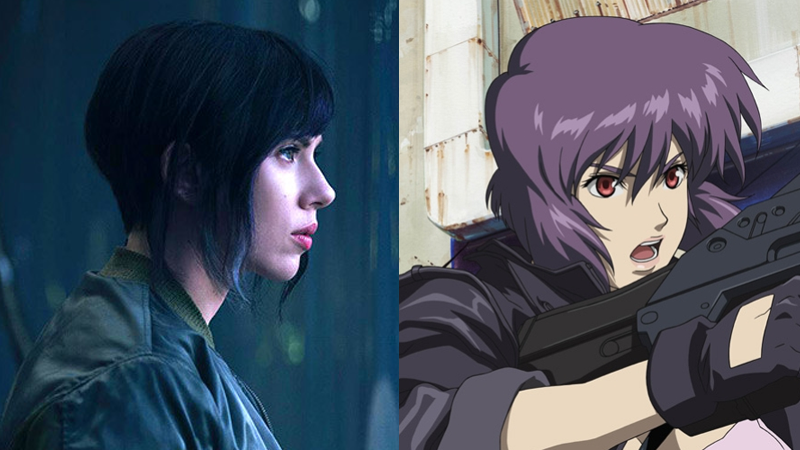 Oh No, Ghost in the Shell Considered Using CGI to Make White Actors Look Asian