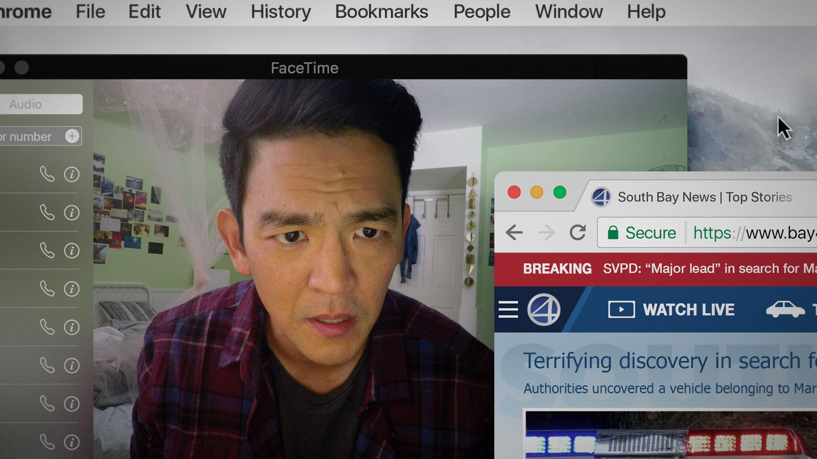 Searching Is A Thriller Told Completely From The Computer's Point Of View