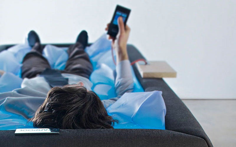 A Redesigned Waterbed Makes You Feel Like You're Floating on Air