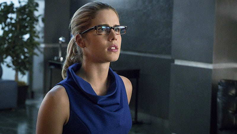 Emily Bett Rickards Is Going to Be in a Science Fiction Movie That I Don't Understand