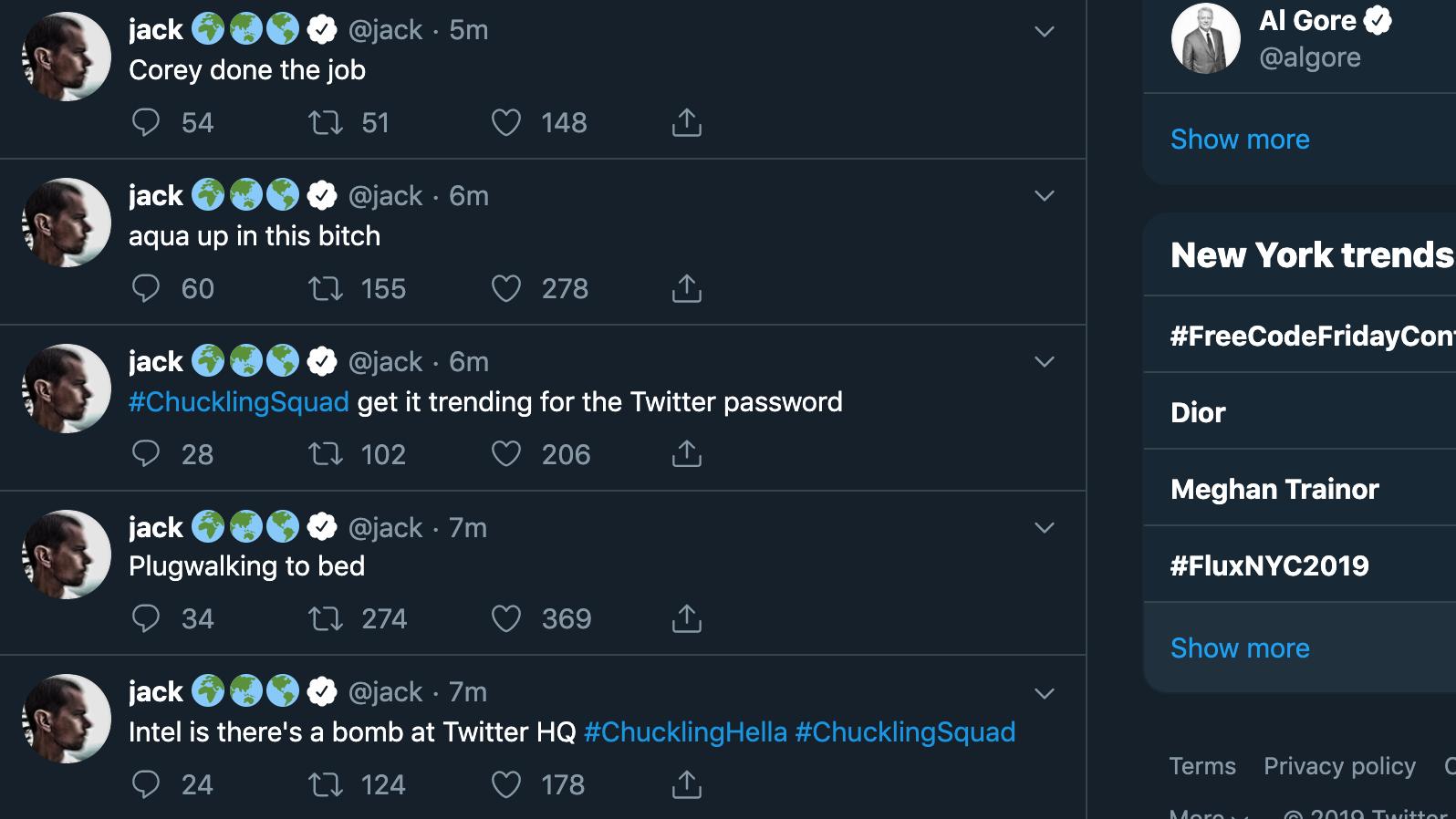 Jack Dorsey's Twitter Account Was Hacked