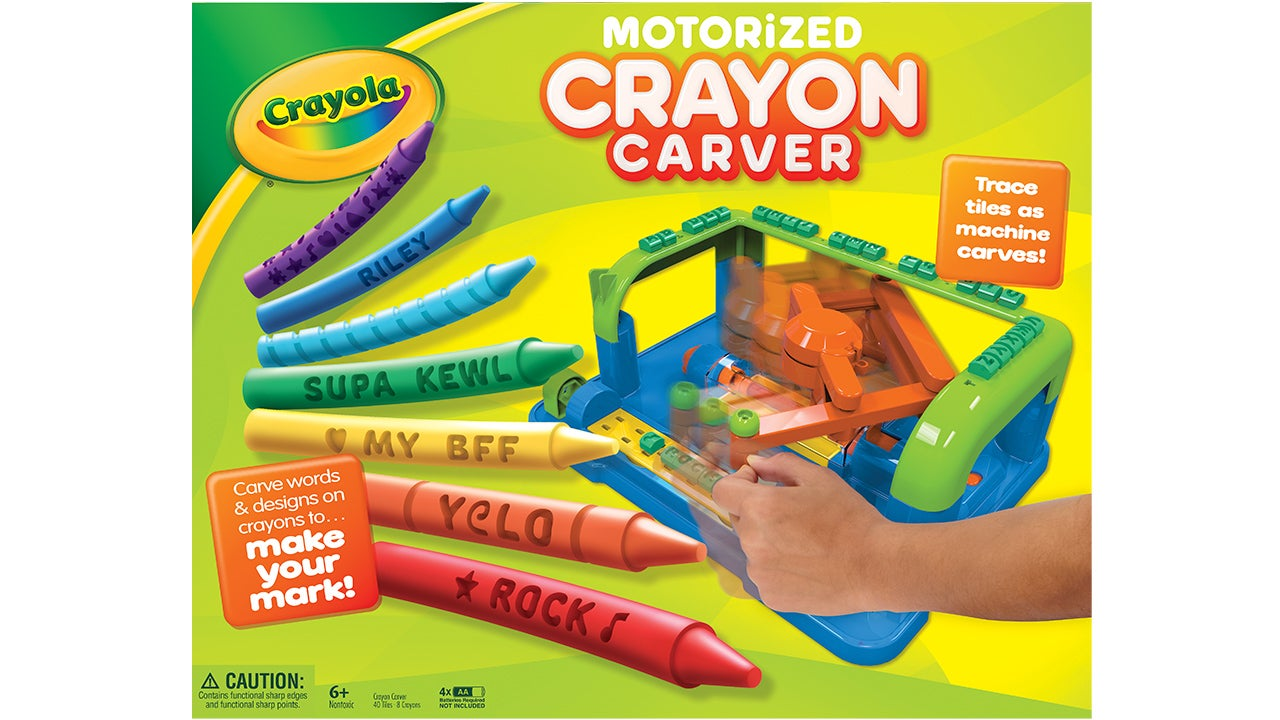 Instead of Colouring     With Crayons, Crayola Wants You To Carve Them All Up