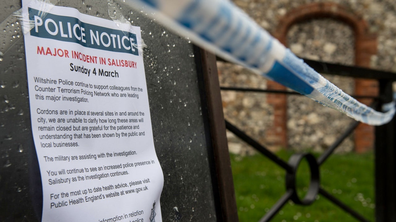 Independent Experts Say Russian Spy And Daughter Poisoned By Nerve Agent Novichok