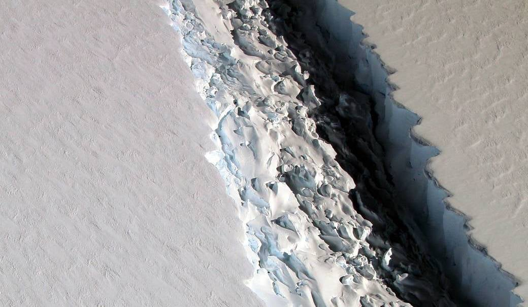 What Happens When That Enormous Antarctic Ice Shelf Finally Breaks?