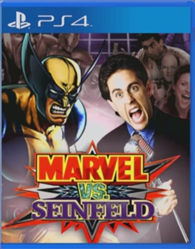 'Marvel vs. Seinfeld' and Other Games No One Asked For
