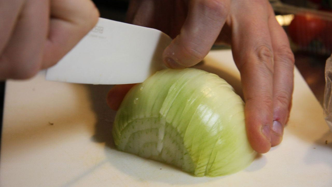 Neutralize Paint Fumes with an Onion