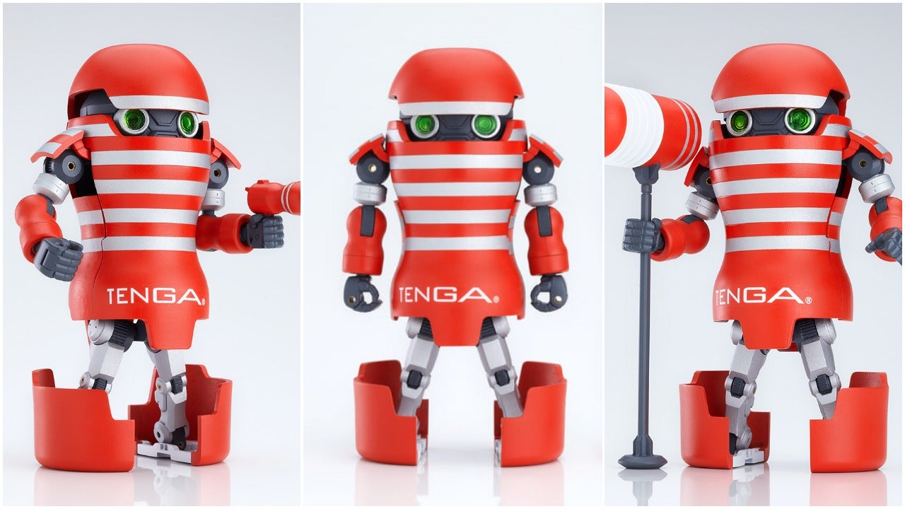 Japanese Sex Toy Gets A Transformer-Type Robot