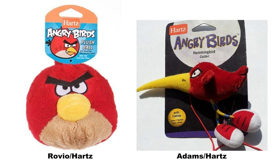 Artist Sues Pet Toy Company Over Angry Birds Trademark