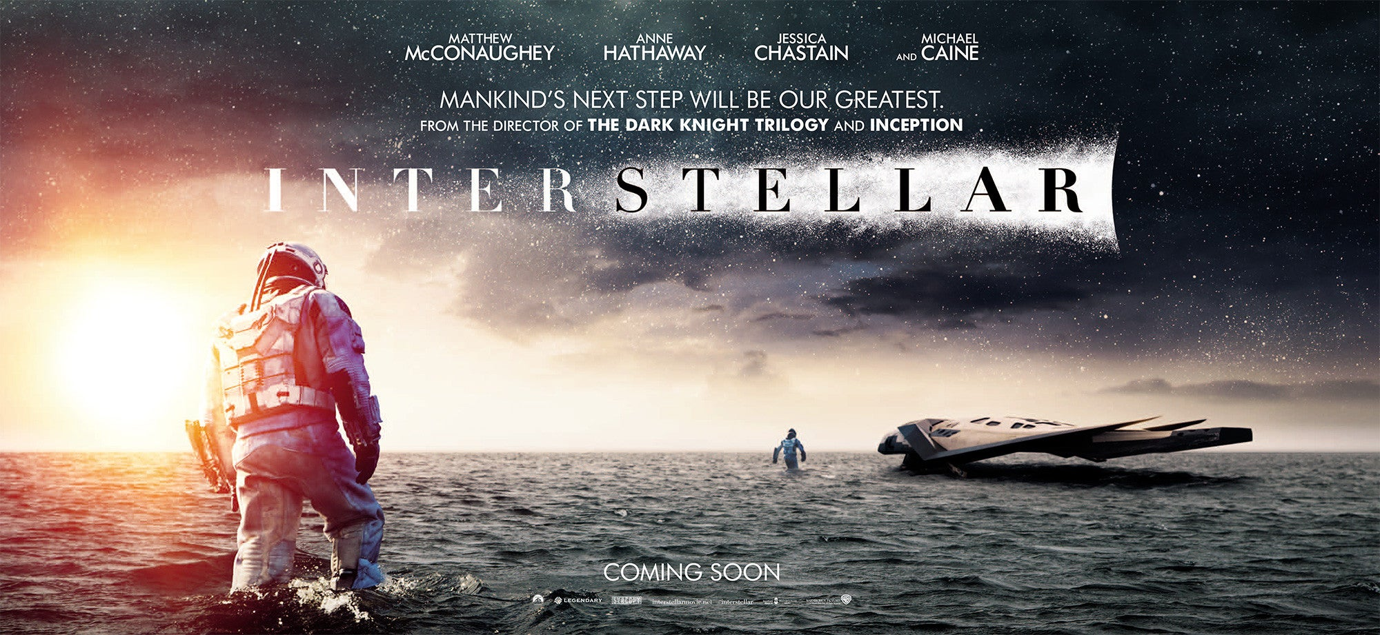 New Interstellar poster and trailers show more of the spaceship