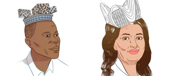 Crown or Dunce Cap? Starchitects Wear Their Famous Buildings As Hats