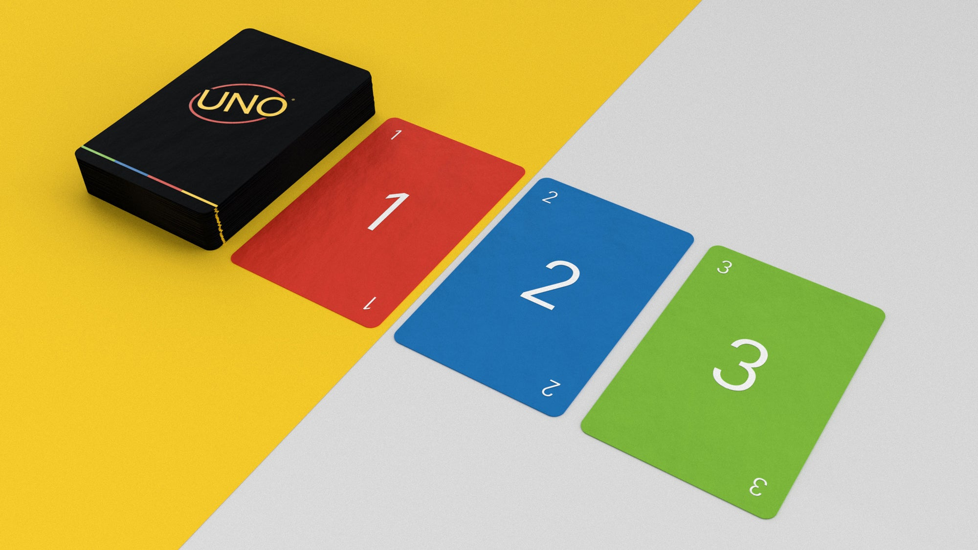Mattel Turned This Graphic Designer's Minimalist UNO Deck Into A Game You Can Actually Buy
