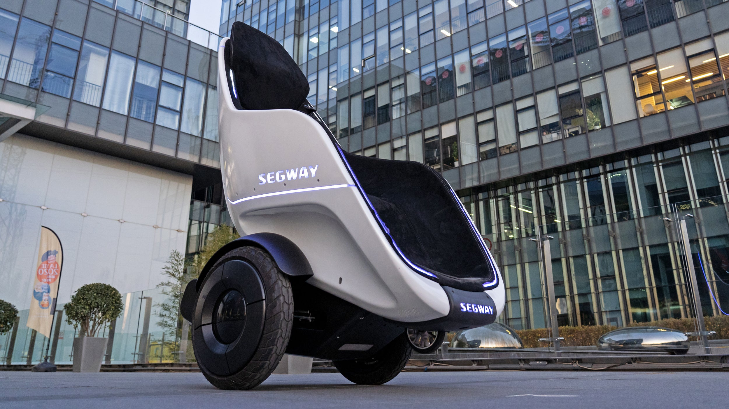 Segway Makes A Self-Balancing Stroller For Adults