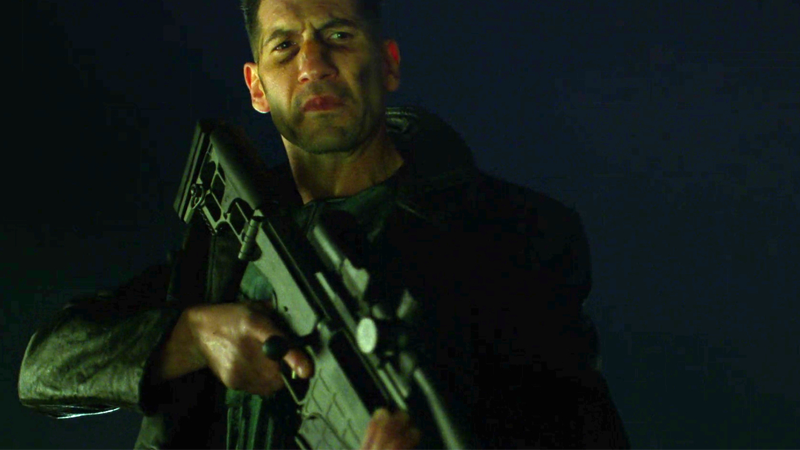 New PunisherSet Pics Show Frank Castle In All His Skull-Laden Glory