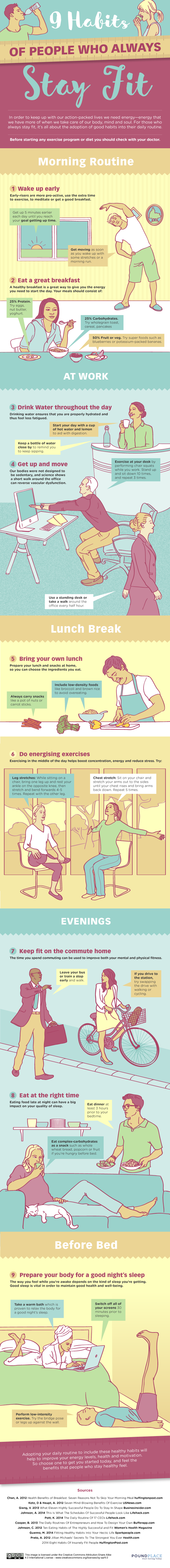 Healthy Habits of Fit and Active People That Are Easy to Adopt